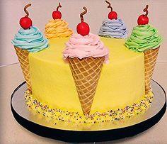 birthday cake kids birthday cake birthday cake for women birthday cake ideas birthday cake recipe birthday cake decorating birthday cakes for men birthday cake kids birthday cake for boys Pretty Cakes, Cute Cakes, Beautiful Cakes, Amazing Cakes, 7th Birthday Cakes, Birthday Cakes For Women, Birthday Cake Designs, Cupcake Birthday Cake, Birthday Cake Decorating