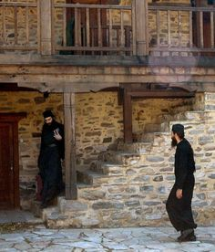 Monks on Mount Athos