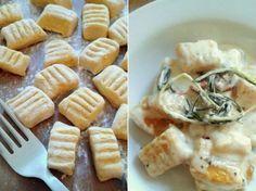 DIY-Anleitung: Butternut-Kürbis-Gnocchi mit Rosmarin-Parmesan-Soße zubereiten via DaWanda.com
