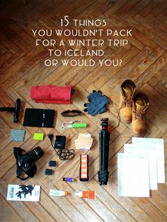 15 things that shouldn't go on your packing list for #Iceland or should they?
