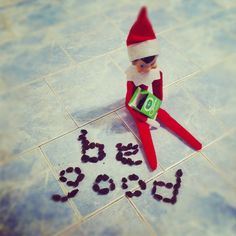 A couple of weeks ago a little Elf arrived to stay with us until Christmas; Boo named him Elfie and sat him on a shelf! From this shelf he watches the kids throughout the day to make sure they are ...