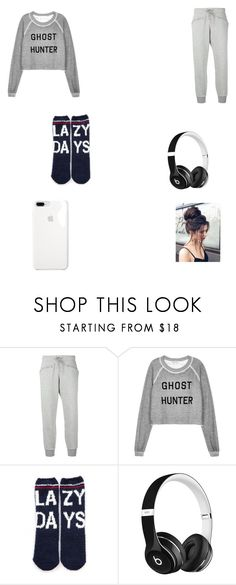 """lazy days"" by astarnes2222 on Polyvore featuring adidas, Wildfox, P.J. Salvage and Beats by Dr. Dre"