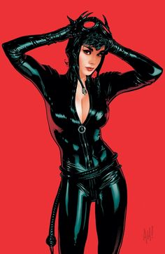 Catwoman #70 by Adam Hughes