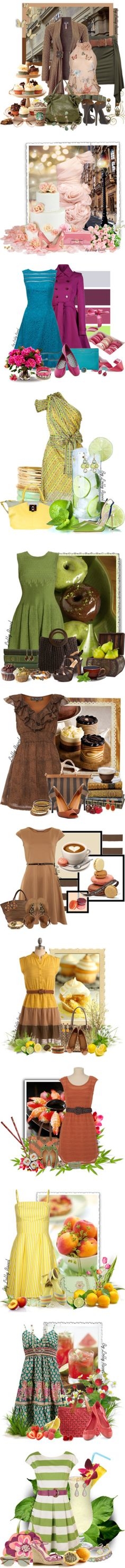 """Sets with food"" by lolly-ravel ❤ liked on Polyvore"