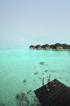 We can see the clear and calm waters of Club Med Kani. #beauty #luxury #zen #beaches #saltlife #ClubMed