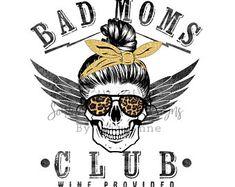 Bad Moms Club, Online Coloring, Skull Design, Cheetah Print, Make And Sell, Screen Printing, Cricut, Grid, Things To Sell