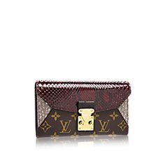 a18f0b9ee698 COM - Louis Vuitton Majestueux Wallet (LG) MONOGRAM EXOTIQUE Small Leather  Goods