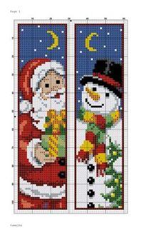 Pin by katherine lee on christmas Cross Stitch Christmas Ornaments, Xmas Cross Stitch, Cross Stitch Books, Cross Stitch Bookmarks, Crochet Bookmarks, Christmas Cross, Cross Stitch Charts, Cross Stitch Designs, Cross Stitching