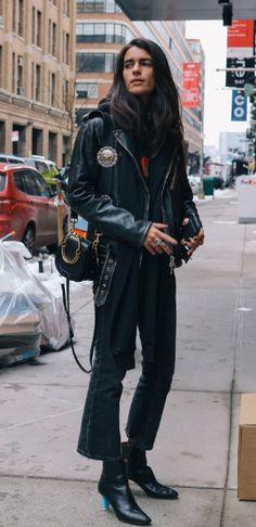 Evangelie Smyrniotaki Wears Solace London Phillipa Dress And Valentino Open Leather Sneakers