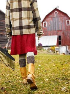 Farm Girl Style...