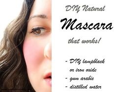 DIY Natural Mascara