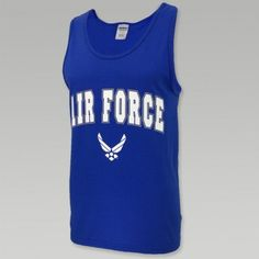 AIR FORCE ARCH WINGS TANK