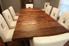 Barnwood Table new kitchen table