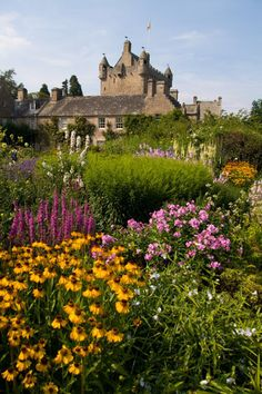 Cawdor Castle Gardens, Cawdor Scotland  Catherine Crawford Campbell 1520-1578 my 14th greatgrandmother lived there.