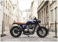 2012 Triumph Bonneville by Vintage Racer - Pipeburn - Purveyors of Classic Motorcycles, Cafe Racers & Custom motorbikes