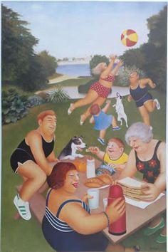 Beryl Cook Picnic edgecombe