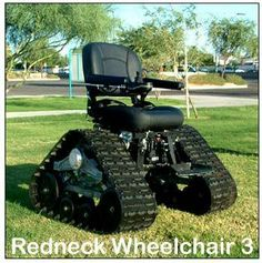 redneck wheelchair............