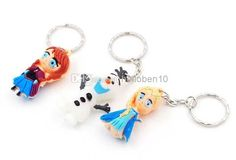 3D Frozen Keychain Princess Anna Olaf Keychains | Buy Wholesale On Line Direct from China