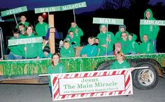 Old Shooting Creek Baptisit Church Youth Group Christmas Float Ideas, Christmas Parade Floats, Mamas And Papas, Children, Kids, Seasons, Activities, Christmas Ornaments, Celebrities