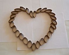 This Tutorial Shows How To Make An Intricate Looking Valentines Day Heart For Your Door Or