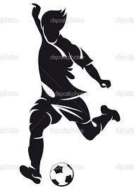 Image result for soccer player goalie silhouette