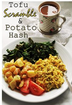 Tofu Scramble & Potato Hash | World Recipes Collection