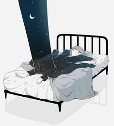 The nights would crush me with the weight of hunger and loneliness Dark Art Illustrations, Illustration Art, Anime Kunst, Anime Art, Sun Projects, Arte Obscura, Vent Art, Sad Art, Dark Anime