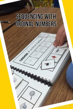 Ordinal numbers practice. Picture key, so non readers can complete it independently. Special education, autism- 1st, 2nd, 3rd etc.
