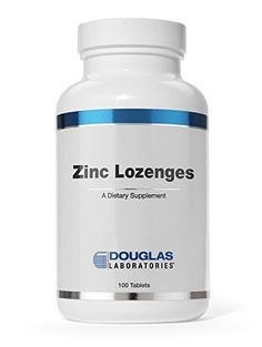 Douglas Laboratories - Zinc Lozenges - Supports Immunity, Reproduction, and Skin* - 100 Tablets
