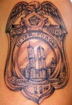 9/11 tribute tattoo
