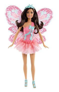 Mattel X9450 - Barbie Schmetterlingsfee brünett, Puppe mit abnehmbaren Flügeln Mattel http://www.amazon.de/dp/B009UCENI4/ref=cm_sw_r_pi_dp_HLG.tb1Q0A569