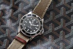 Rolex 5513 Submariner 1968 #www.iconicpieces.com #goyard #rolex #vintage #submariner #watches