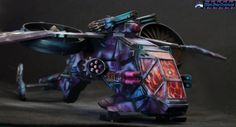 Dragonfly transporter painted by Atropos from http://thirdfatecreations.blogspot.com/