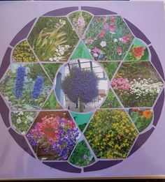 Created by Michele Komisor using lea france.com stencil Rose window