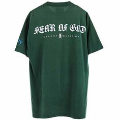 FEAR OF GOD VINTAGE T-SHIRT / GREEN