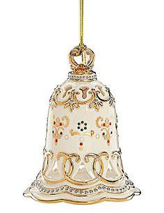 Lenox China Jewels Bell Ornament