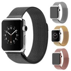 Apple Watch Band, Milanese Magnetic Loop Stainless Steel