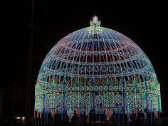Light Festival Ghent, Belgium - 2012: Luminarie De Cagna