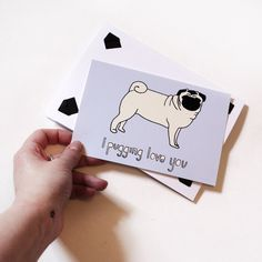 I pugging love you- my punny valentine for next year