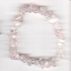 Splitter-Armband aus Rosenquarz - Natursteine