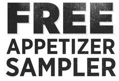 Free Applebee's Appetizer Sampler ~ July 21 Only! Restaurant Deals, Restaurant Coupons, Love Is Free, 21st, Appetizers, Projects, Food, Log Projects, Appetizer
