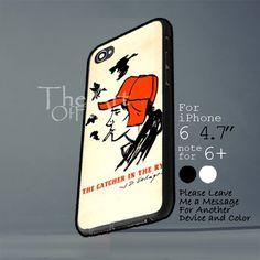 catcher in the rye m Iphone 6 note for 6 Plus Iphone 4, Iphone Cases, Catcher In The Rye, New Product, Notes, Messages, Handmade, Accessories, Report Cards