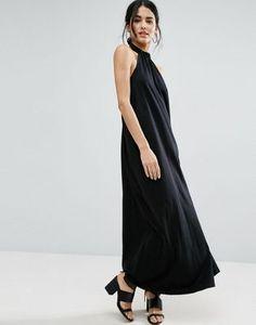 ASOS Halter Swing Maxi Dress