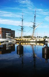 US Brig Niagara in port