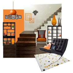 """Top Interior Sets / """"Untitled #136"""" by designsbygenevieveinteriors on... via Polyvore"""