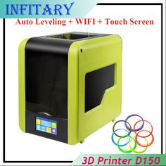 Auto leveling WiFi Printer Size Printer With Heatbed and Touch Screen for Iphone Ipad Android Filament Best 3d Printer, Digital Alarm Clock, Wifi, Ipad, Android, Touch, Iphone