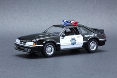 1993 Ford Mustang - San Francisco Police Dept - Greenlight