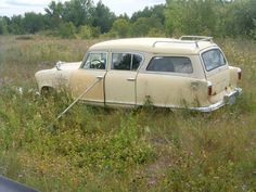 abandoned+hudson+car | 1955 Hudson Rambler Cross Country Station Wagon Photo Picture