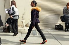 Fashion Week Street Style: Shala Monroque