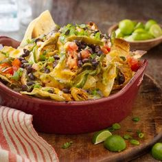 Chicken Nachos — David Venables Recipes — QVC Recipes — Kitchen & Food — QVC.com